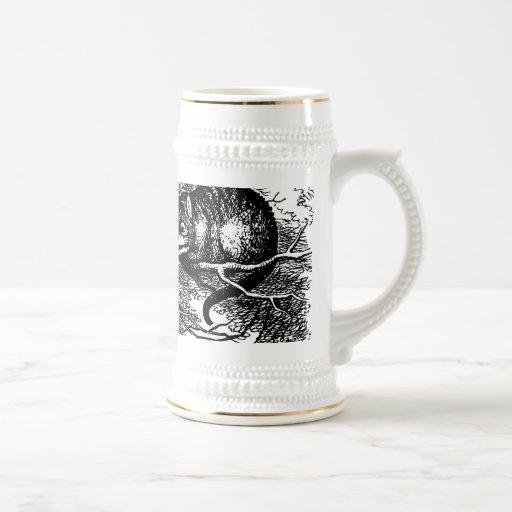 Chat de Cheshire Stein Alice au pays des merveille Tasse À Café