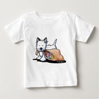 Chat de chien de Halloween Westie T-shirt Pour Bébé
