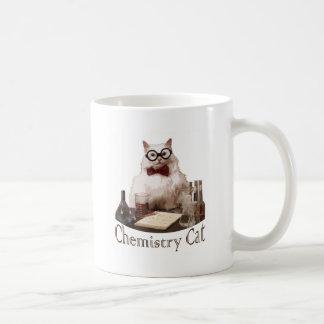 Chat de chimie (du reddit de memes 9gag) tasse