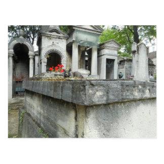 Chat de cimetière de Montmartre Cartes Postales