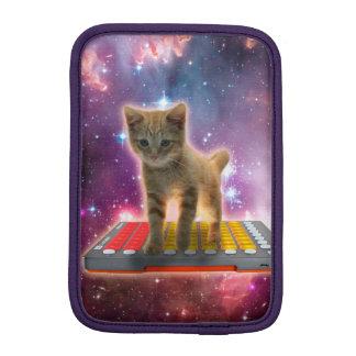 chat de clavier - chat tigré - minou housse iPad mini