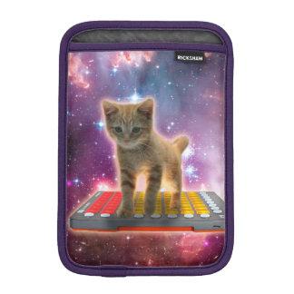 chat de clavier - chat tigré - minou housse pour iPad mini
