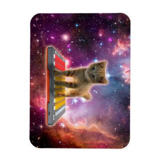 chat de clavier - chat tigré - minou magnet flexible
