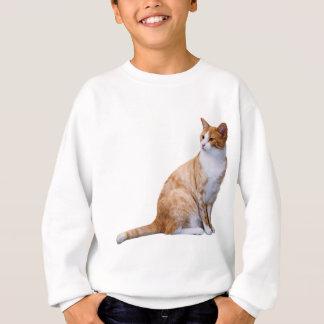 Chat de gingembre sweatshirt