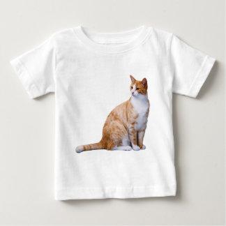 Chat de gingembre t-shirt pour bébé