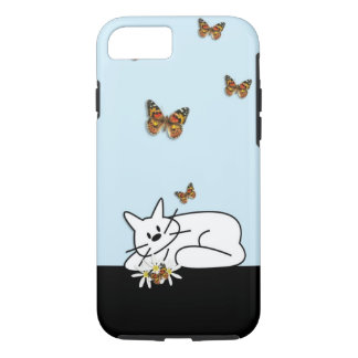Chat de griffonnage coque iPhone 7