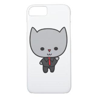Chat de Kawaii avec la cravate Coque iPhone 7