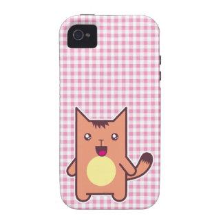Chat de Kawaii Coques iPhone 4/4S
