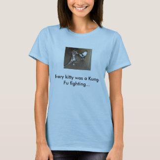 Chat de Kung Fu T-shirt