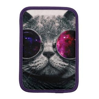 chat de lunettes de soleil housse iPad mini