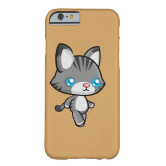 Chat de marche de Kawaii Coque iPhone 6 Barely There
