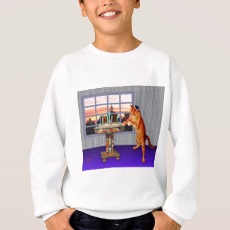 Chat de Menorah Sweatshirt