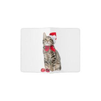 Chat de Noël - chat du père noël - chaton mignon Protège-passeport