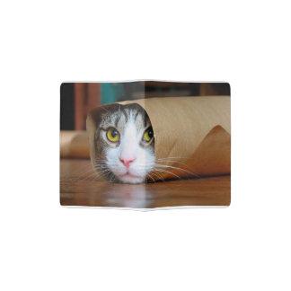 Chat de papier - chats drôles - meme de chat - protège-passeport