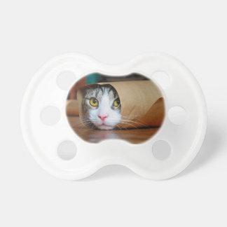 Chat de papier - chats drôles - meme de chat - tétine