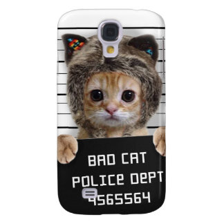 chat de photo - chat fou - minou - félin coque galaxy s4