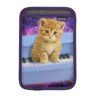 Chat de piano housse pour iPad mini