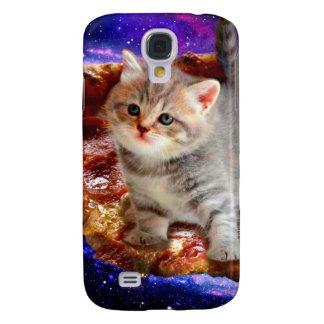 chat de pizza - chats mignons - minou - chatons coque galaxy s4