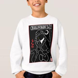 Chat de rue de Bourbon Sweatshirt