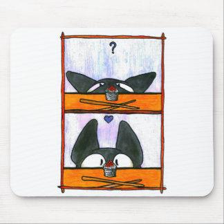 Chat de sushi ! tapis de souris