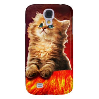 chat de volcan, chat vulcan, coque galaxy s4