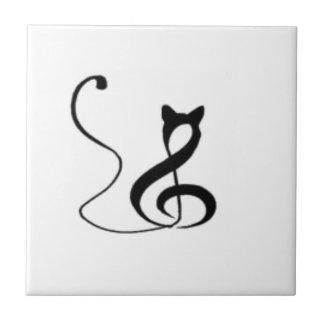 Chat d'harmonie petit carreau carré