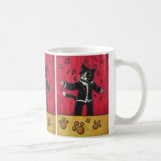 Chat d'opéra mug