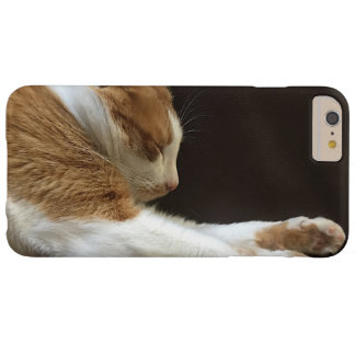 Chat dormant sur le sofa coque barely there iPhone 6 plus
