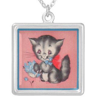 chat doux de minou collier