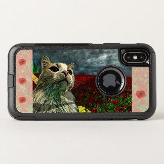 """Chat drôle coque iphone de """"magicien d'Oz"""" Baum"""