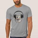 chat drôle d'écouteur de djs t-shirts
