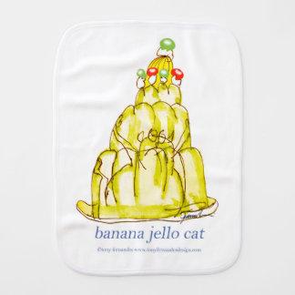 chat élégant de jello de la banane des fernandes linge de bébé