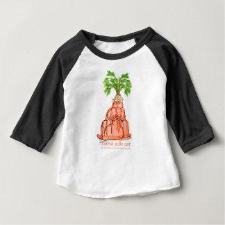 chat élégant de jello de la carotte des fernandes t-shirt pour bébé