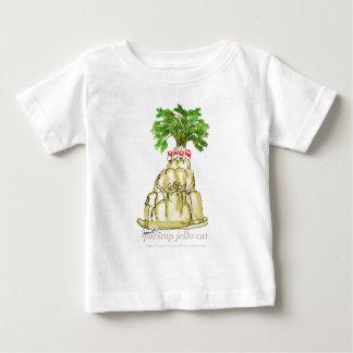 chat élégant de jello du panais des fernandes t-shirt pour bébé