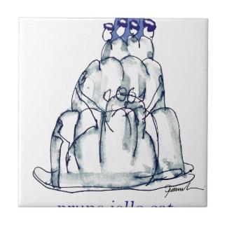 chat élégant de jello du pruneau des fernandes petit carreau carré