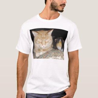 Chat et cobaye t-shirt