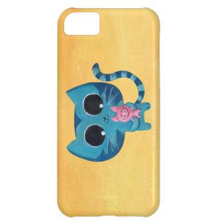 Chat et porc mignons de Kitty Coque iPhone 5C