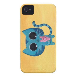 Chat et porc mignons de Kitty Coques iPhone 4