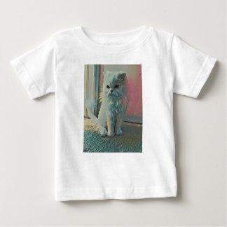 Chat fâché t-shirt pour bébé