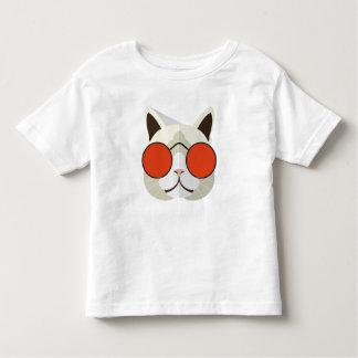 Chat frais dans des lunettes de soleil t-shirt