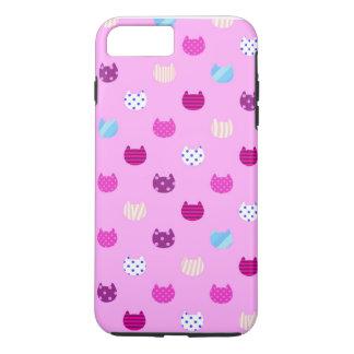 Chat Girly mignon Iphone 6 de Kawaii plus, dur Coque iPhone 7 Plus
