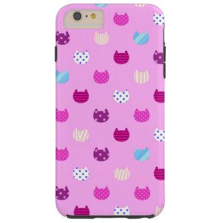 Chat Girly mignon Iphone 6 de Kawaii plus, dur Coque Tough iPhone 6 Plus
