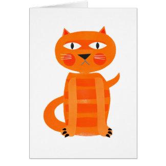 Chat grincheux cartes