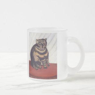 Chat grincheux vintage tasse