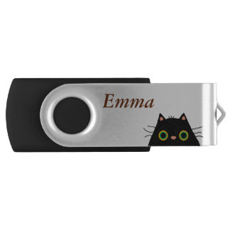 Chat informe clé USB 2.0 swivel