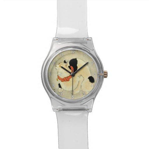 Chat japonais, Utagawa Kuniyoshi Montres Bracelet
