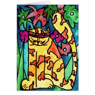 Chat jaune • Nick Abrams, vieillissent 8 - carte