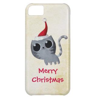 Chat mignon de Noël de Kawaii Coque Pour iPhone 5C