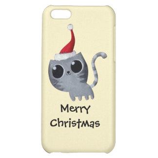 Chat mignon de Noël de Kawaii Étuis iPhone 5C