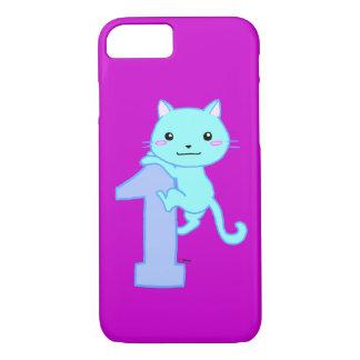 chat mignon numéro 1 coque iPhone 7